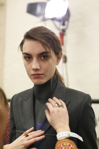 J.W. Anderson at London Fall 2014 (Backstage)
