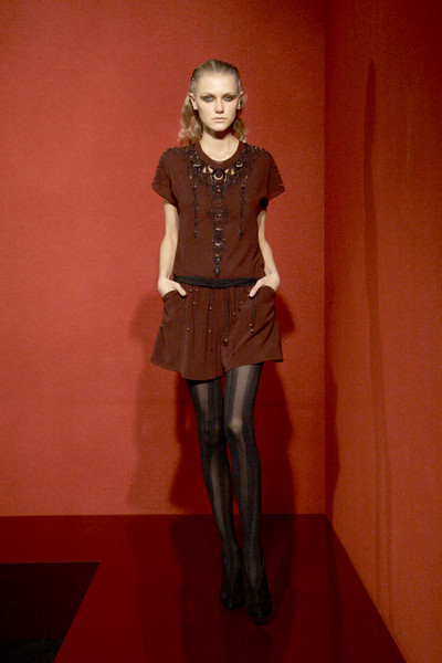 Jasmine Di Milo Press Office at Paris Fall 2010