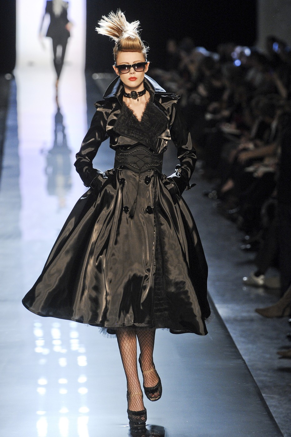 jean paul gaultier at couture spring 2011 livingly. Black Bedroom Furniture Sets. Home Design Ideas