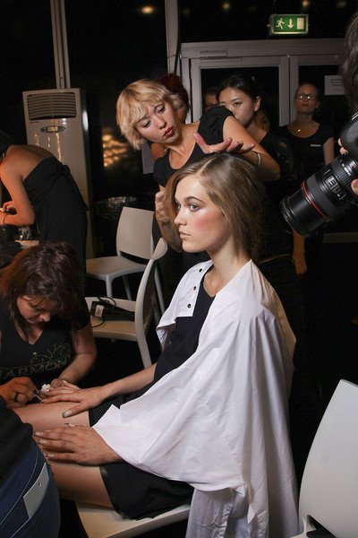 Jean Pierre Braganza at London Spring 2012 (Backstage)
