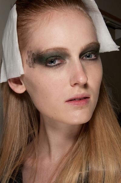 Jean-Charles de Castelbajac at Paris Fall 2012 (Backstage)