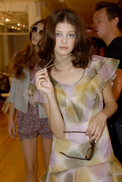 Jenni Kayne at New York Spring 2007 (Backstage)