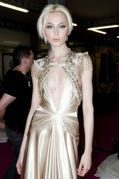 Jenny Packham at London Fall 2009 (Backstage)