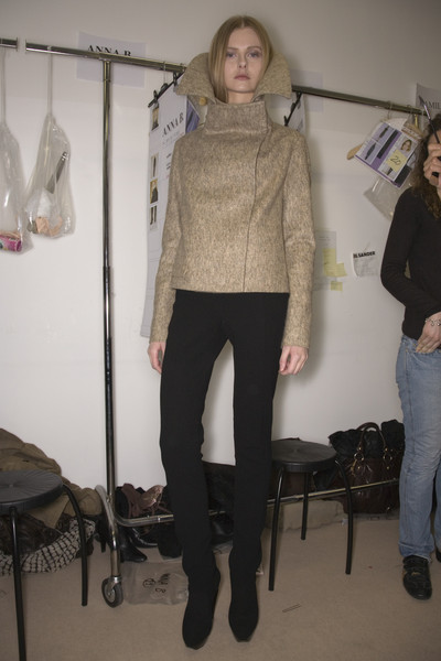 Jil Sander at Milan Fall 2008 (Backstage)