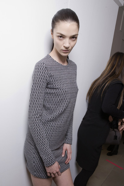 Jil Sander at Milan Fall 2010 (Backstage)