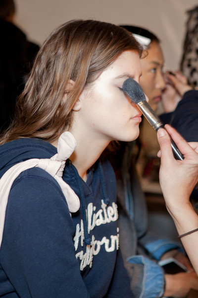 Jill Stuart at New York Fall 2012 (Backstage)