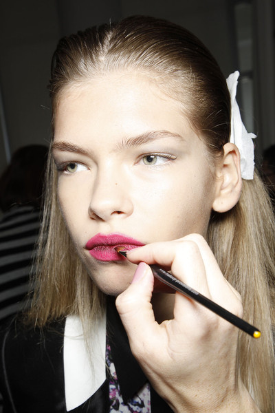 Jill Stuart at New York Spring 2012 (Backstage)