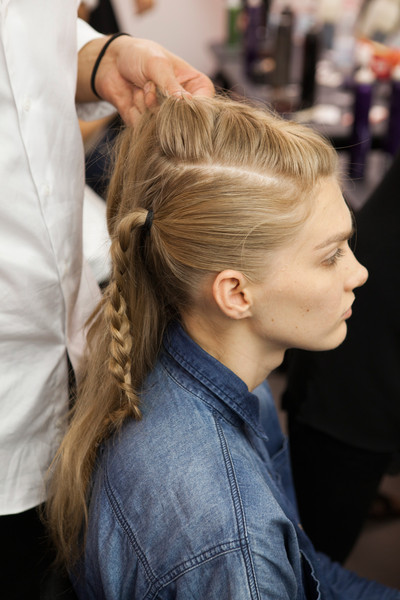 Jo No Fui at Milan Spring 2013 (Backstage)
