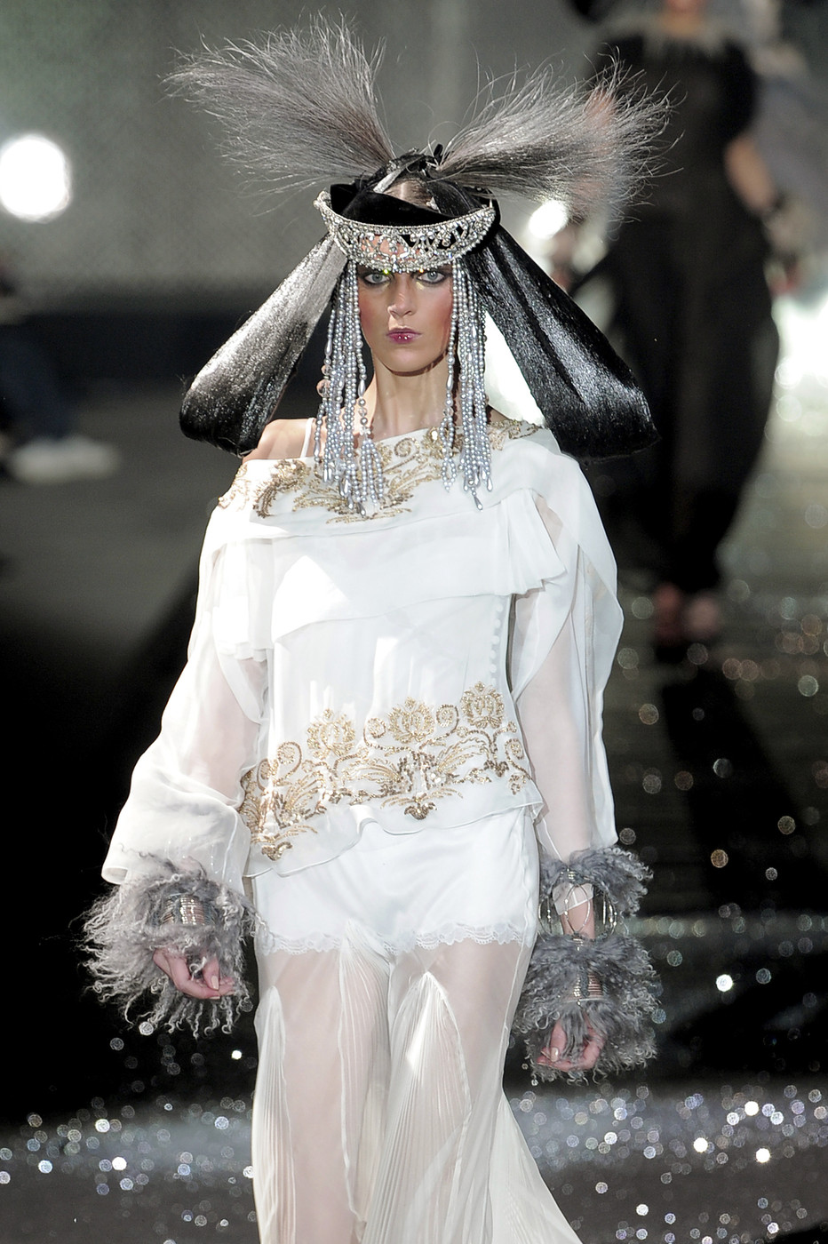 John Galliano at Paris Fashion Week Fall 2010