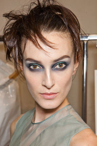 John Galliano at Paris Fall 2012 (Backstage)