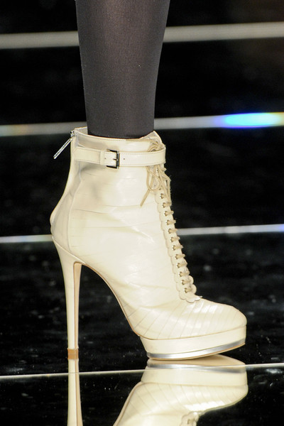 John Richmond at Milan Fall 2012 (Details)