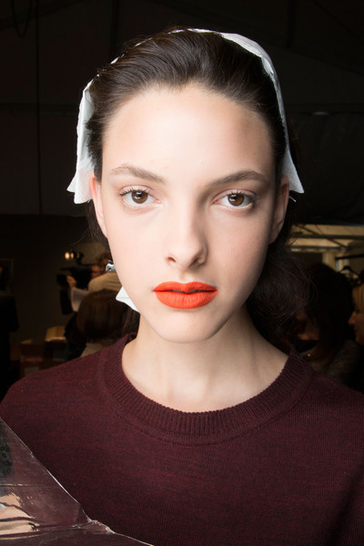 John Richmond at Milan Spring 2014 (Backstage)