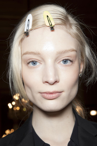 Jonathan Saunders at London Fall 2012 (Backstage)