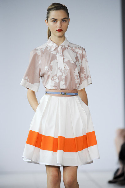 Jonathan Saunders at London Spring 2011