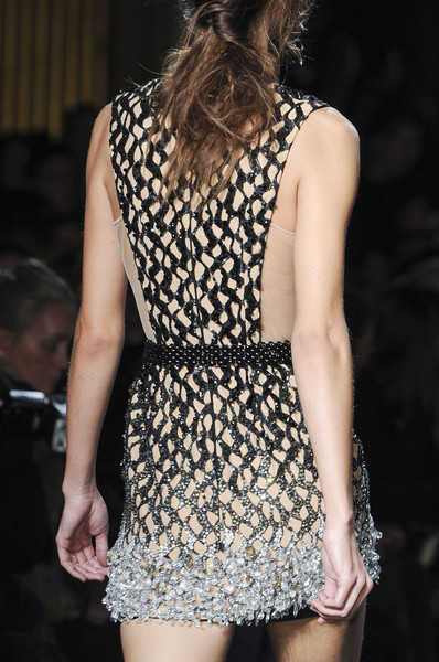 Julien Macdonald at London Fall 2013 (Details)