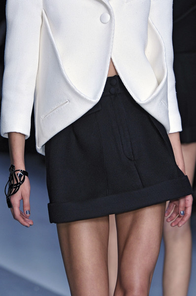 Karl Lagerfeld at Paris Spring 2010 (Details)