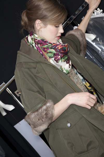 Kenzo at Paris Fall 2009 (Backstage)
