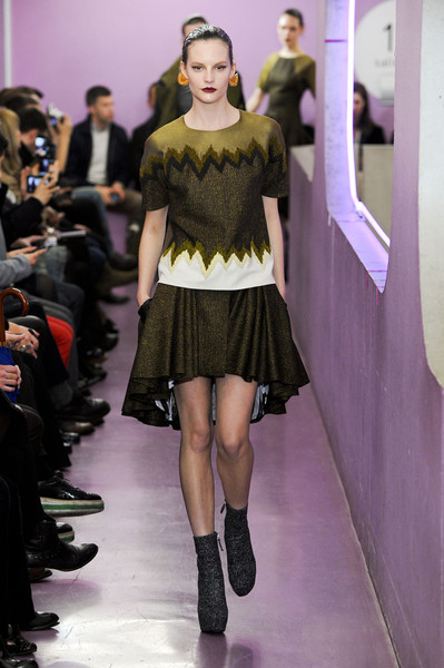 Kenzo at Paris Fall 2012