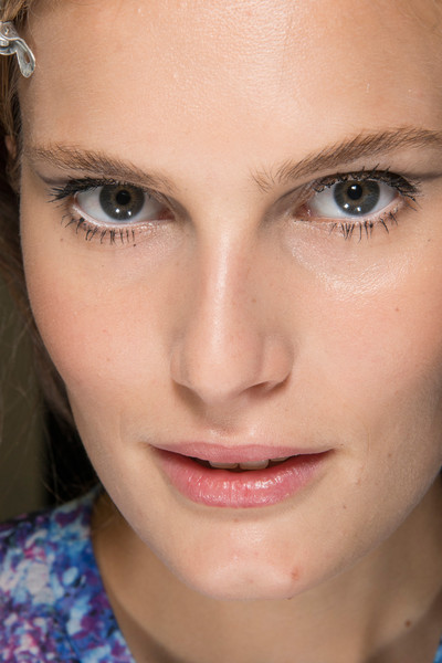 Kristina Ti at Milan Spring 2013 (Backstage)