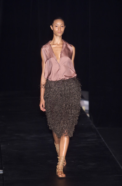 Krizia Top at Milan Spring 2001