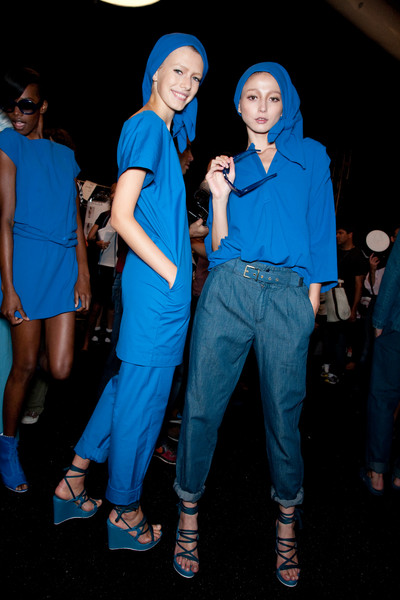 Lacoste at New York Spring 2010 (Backstage)