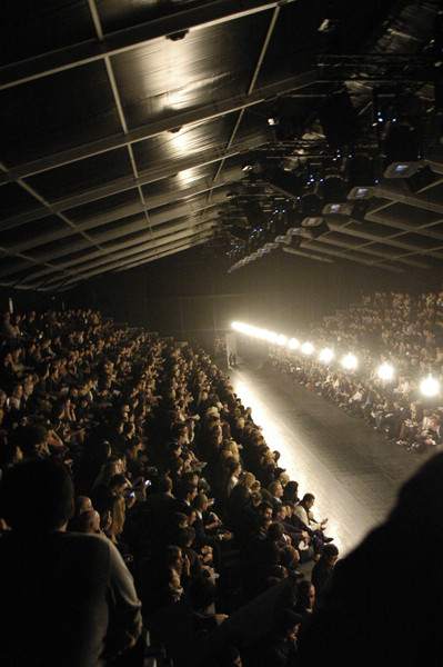 Lanvin at Paris Fall 2007 [image,crowd,audience,light,performance,stage,event,sky,concert,performing arts,auditorium,crowd,audience,light,runway,auditorium,paris,lanvin,paris fashion week,concert,paris,concert,auditorium,lanvin,runway,livingly,crowd,light,image]