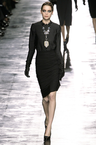 Lanvin at Paris Fall 2008