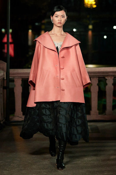 Lanvin at Paris Spring 2021 [fashion model,fashion show,fashion,clothing,runway,outerwear,fashion design,haute couture,event,outerwear,fashion,clothing,runway,model,spring,runway,lanvin,paris fashion week,fashion show,fashion show,ready-to-wear,fashion,lanvin,runway,model,clothing,spring,kollektion]