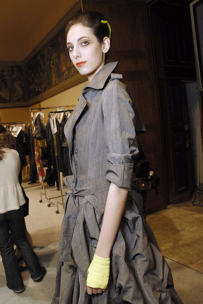 Lefranc-Ferrant at Couture Spring 2008 (Backstage)