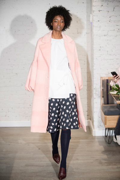 Lela Rose at New York Fall 2017 [fashion show,fashion,clothing,runway,fashion model,pink,outerwear,event,fashion design,street fashion,socialite,lela rose,fashion,runway,model,haute couture,pink,street fashion,new york fashion week,fashion show,runway,fashion show,haute couture,fashion,model,socialite,pink m]