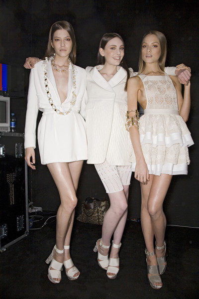Les Copains at Milan Spring 2009 (Backstage)