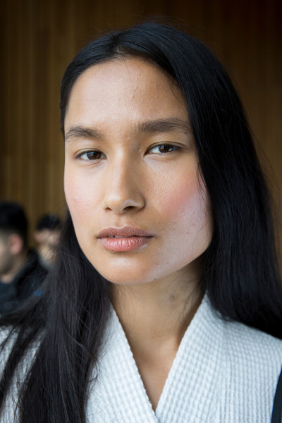 Linder at New York Fall 2019 (Backstage)