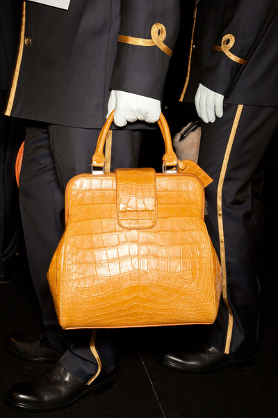 Louis Vuitton at Paris Fall 2012 (Backstage)