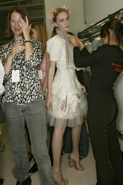 Louis Vuitton at Paris Spring 2007 (Backstage)