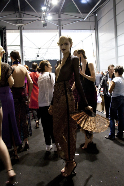 Louis Vuitton at Paris Spring 2011 (Backstage)