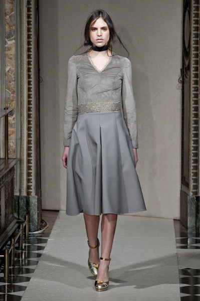 Luisa Beccaria at Milan Fall 2014