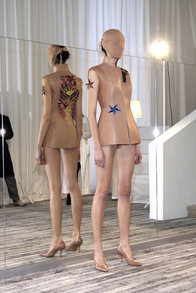 Maison Martin Margiela at Couture Spring 2009 [couture spring 2009,clothing,leg,human leg,fashion,mannequin,human body,thigh,photography,back,vacation,photographer,supermodel,maison martin margiela,fashion,leg,model,clothing,human body,french,maison margiela,french photographer,fashion,model,supermodel,h m]