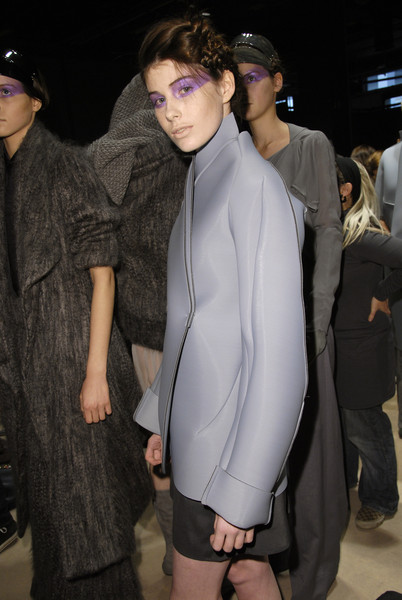 Malloni at Milan Fall 2008 (Backstage)