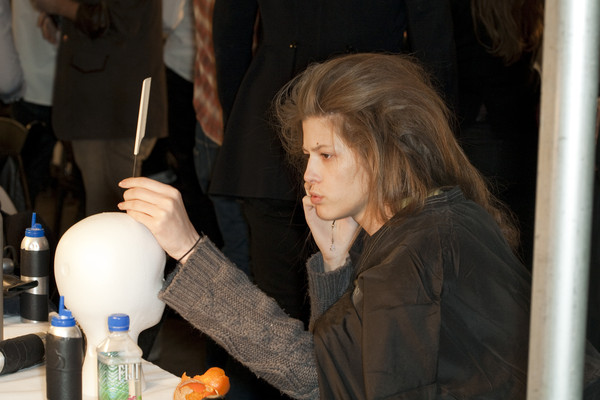 Marc Jacobs at New York Fall 2009 (Backstage)
