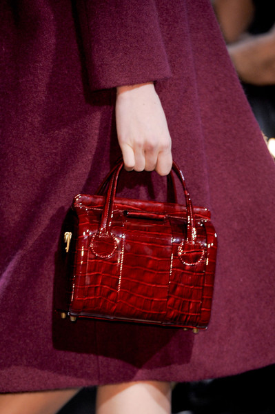 Marc by Marc Jacobs at New York Fall 2013 (Details) [handbag,bag,red,fashion,fashion accessory,maroon,design,satchel,leather,material property,handbag,footwear,fashion accessory,marc by marc jacobs,marni,fashion,animal print i,maroon,design,new york fashion week,handbag,fashion,new york fashion week,animal print i,marni,valextra,footwear]