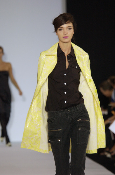Marc by Marc Jacobs at New York Spring 2003 [fashion model,fashion show,fashion,runway,clothing,yellow,fashion design,outerwear,event,public event,supermodel,socialite,fashion,yellow,runway,model,fashion model,fashion design,new york fashion week,fashion show,runway,fashion show,model,supermodel,fashion,yellow,socialite]