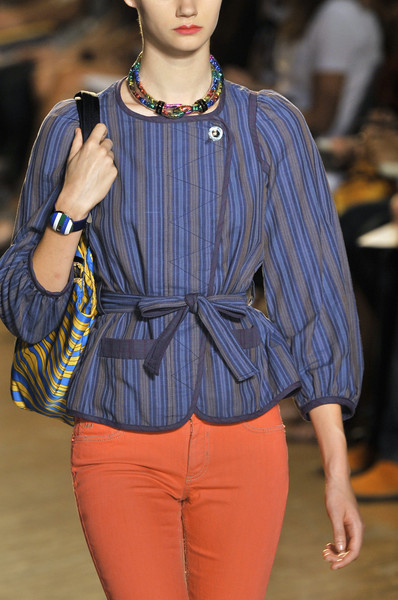 Marc by Marc Jacobs at New York Spring 2010 (Details) [fashion model,fashion,fashion show,clothing,runway,electric blue,haute couture,fashion design,outerwear,textile,supermodel,socialite,fashion,runway,model,fashion model,blue,haute couture,new york fashion week,fashion show,runway,fashion show,model,fashion,supermodel,denim,socialite]