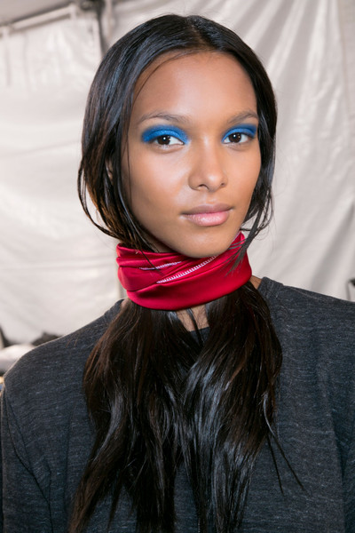 Marc by Marc Jacobs at New York Spring 2014 (Backstage) [hair,face,lip,eyebrow,blue,hairstyle,beauty,pink,head,cheek,socialite,marc by marc jacobs,hair,hair,brown hair,fashion,hairstyle,face,lip,new york fashion week,long hair,hair m,fashion,brown hair,black hair,socialite,hair,brown,beauty.m,02pd - circolo del partito democratico di milano]