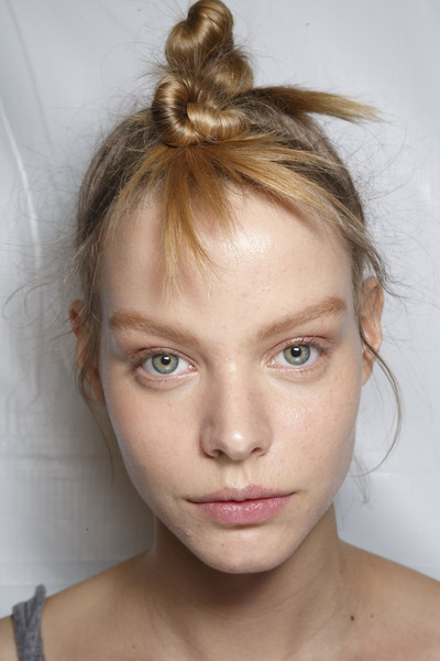 Marc by Marc Jacobs at New York Spring 2015 (Backstage) [hair,face,hairstyle,eyebrow,blond,beauty,chin,forehead,lip,skin,blond,head,hairstyle,beauty,hair,brown hair,head hair,fashion,eyebrow,new york fashion week,hairstyle,head hair,braid,brown hair,head,fashion,beauty,blond,hair,model]