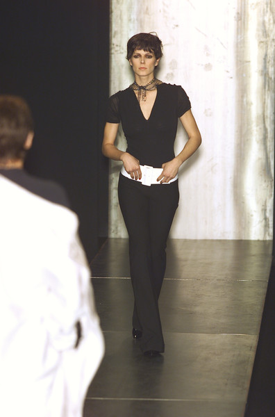 Marcel Marongiu at Paris Fall 2001