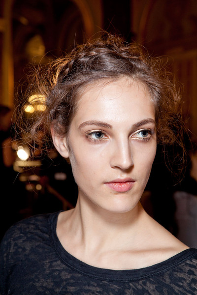Marchesa at New York Fall 2012 (Backstage)