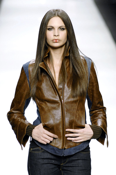 Maria Elena Pino at Milan Fall 2007