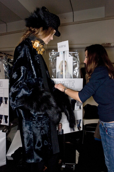 Marni at Milan Fall 2009 (Backstage)