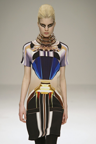 Mary Katrantzou at London Fall 2009