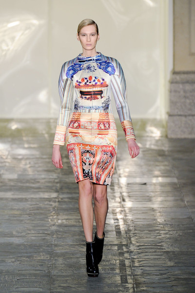 Mary Katrantzou at London Fall 2011